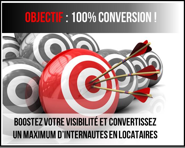 Objectif : 100% Conversion !