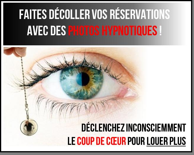 Faites décoller vos réservations avec des photos hypnotiques